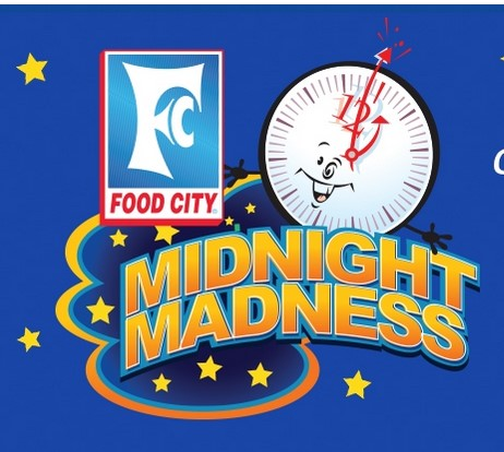 Midnight Madness Food City July