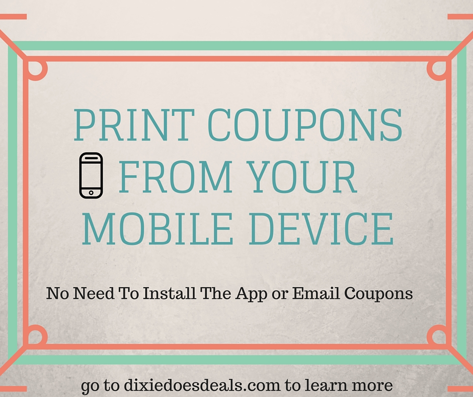 Below you'll find a list of what I consider to be the best printable coupon sites. In short, you can go to any of the sites below, select the coupons you want, and print them out right at home!