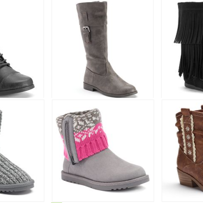 Girl's Boots Only $11.25 (Regular Up To $55)