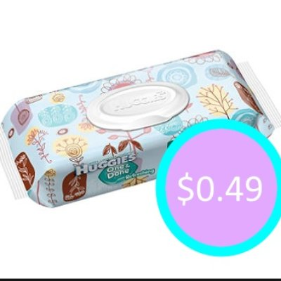 *NEW* Huggies Baby Wipes Only $0.49: Kroger Deal