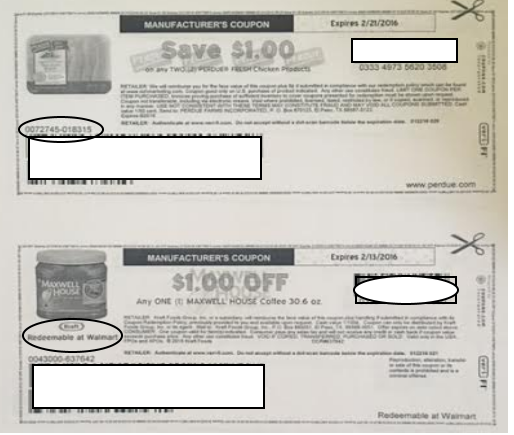 printed coupon