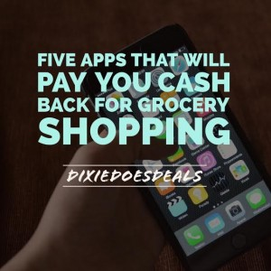 Top Five Grocery Coupon Cash Back Apps