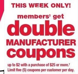 Kmart coupon policy michigan
