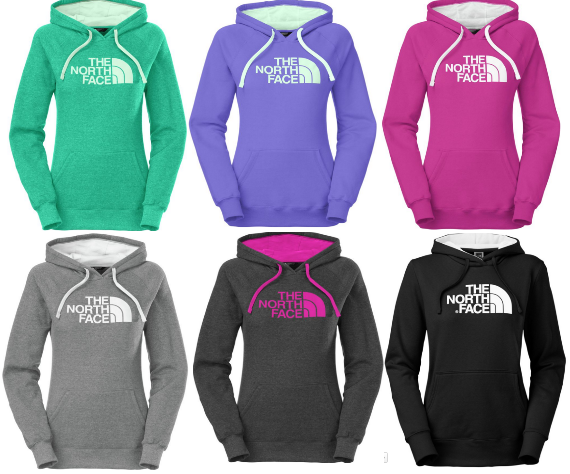 127ab0dd9 Women's The North Face Half Dome Pullover Hoodies Only $26.97