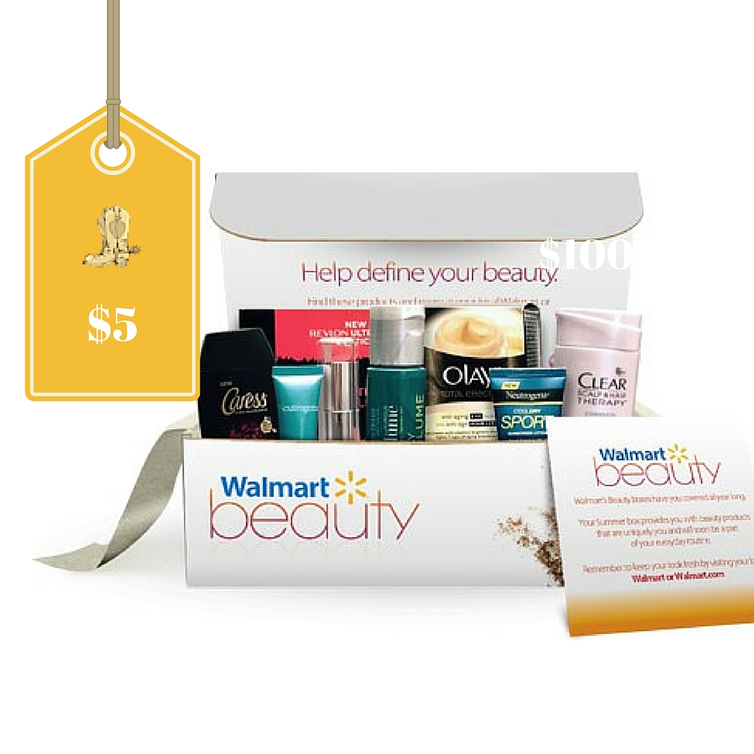 Free Walmart Beauty Boxes Just Pay Shipping