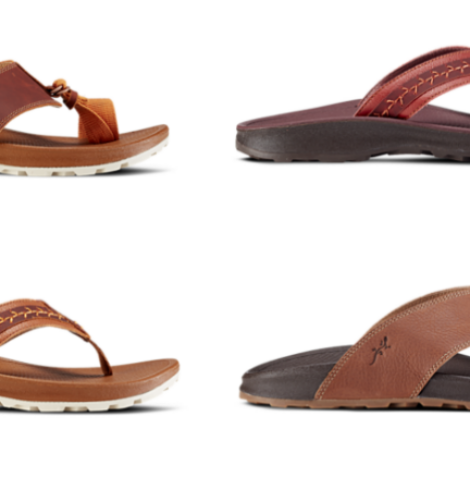 Chaco Playa Pro Leather Flip Flops Only $35 (Regular $95)!