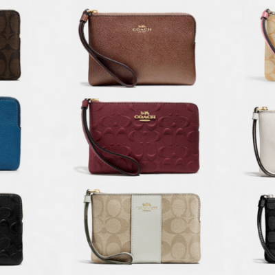 Coach Outlet Wristlets Starting at $25 + Lots More!