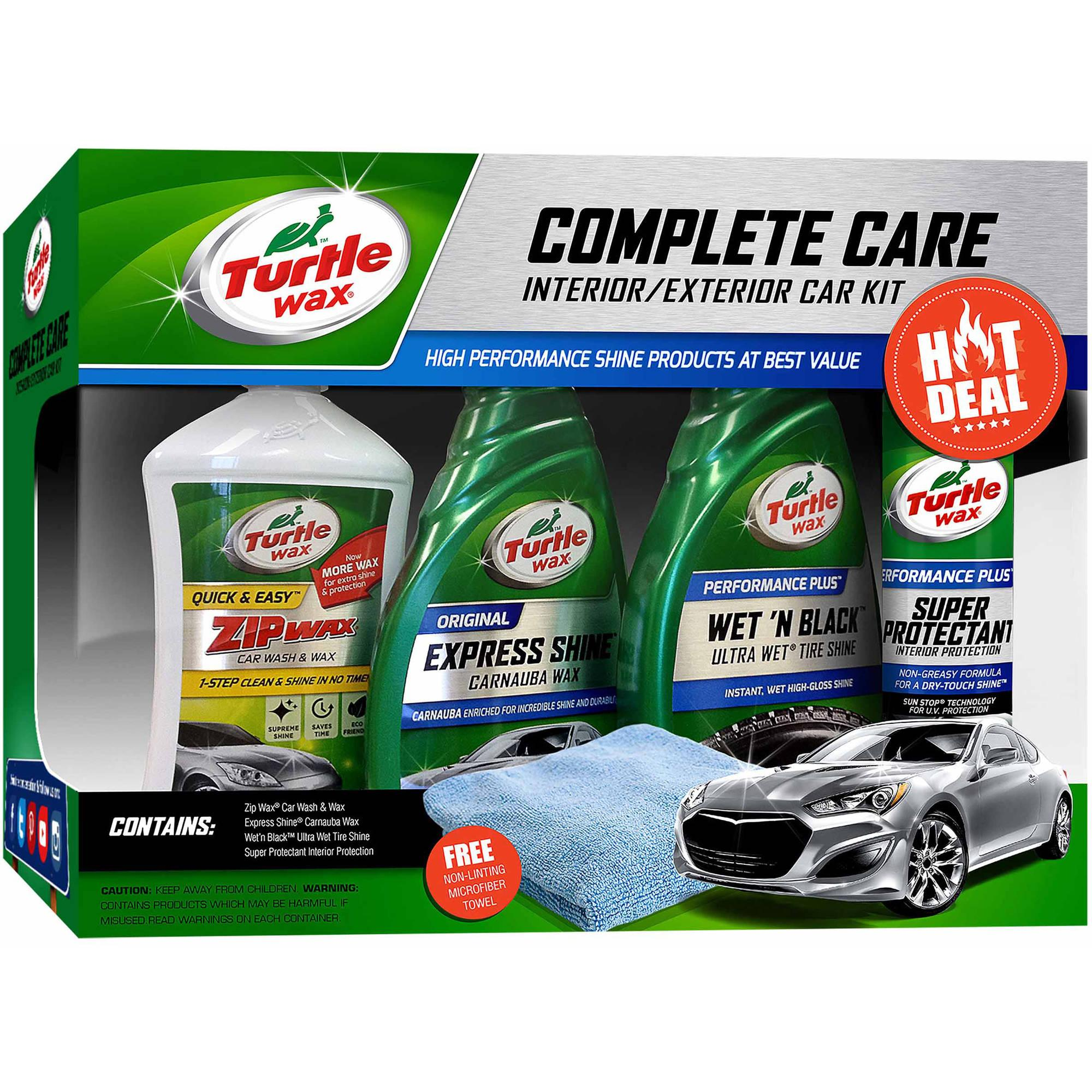 turtle wax complete car kit only regular. Black Bedroom Furniture Sets. Home Design Ideas