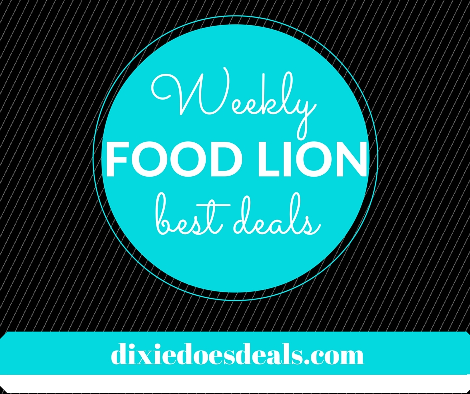 FOOD LION Best Deals and Coupon matchups