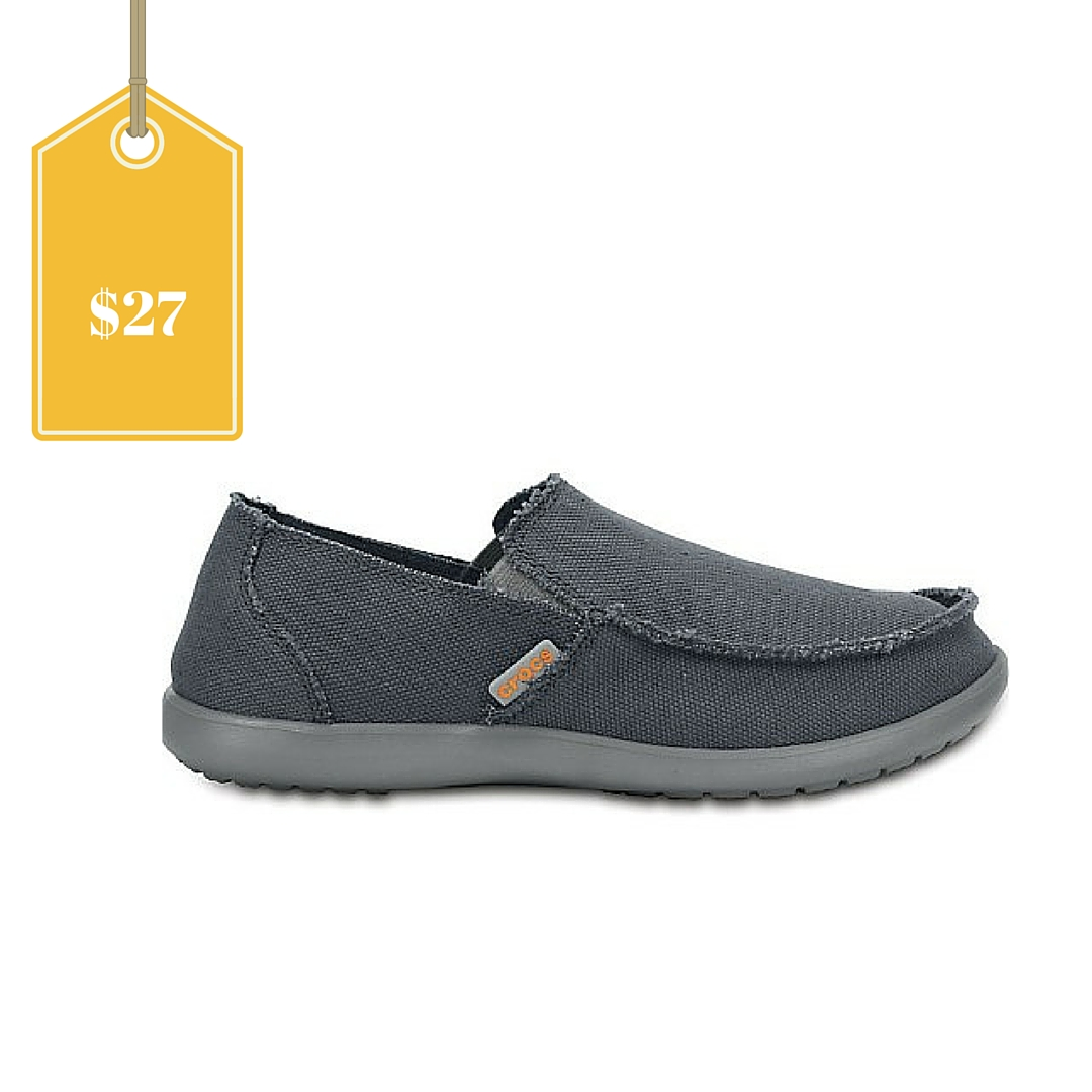 crocs santa cruz mens loafer only  27 shipped  regular  55