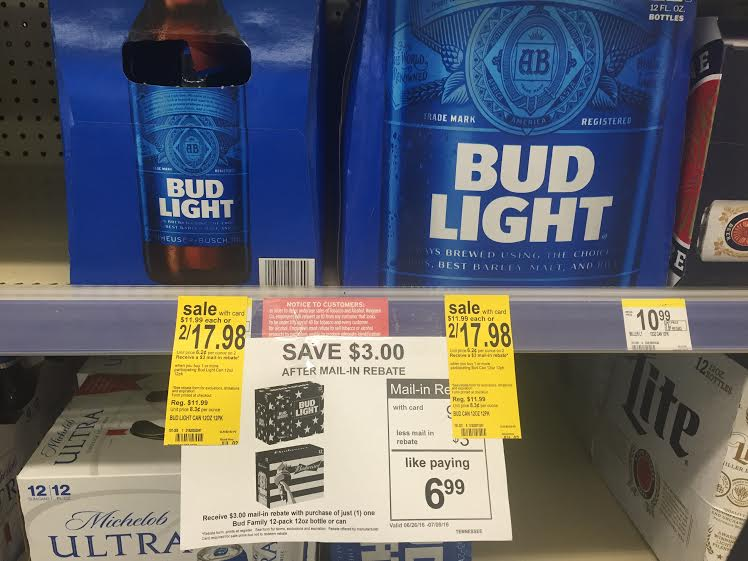 Beer coupons 2018