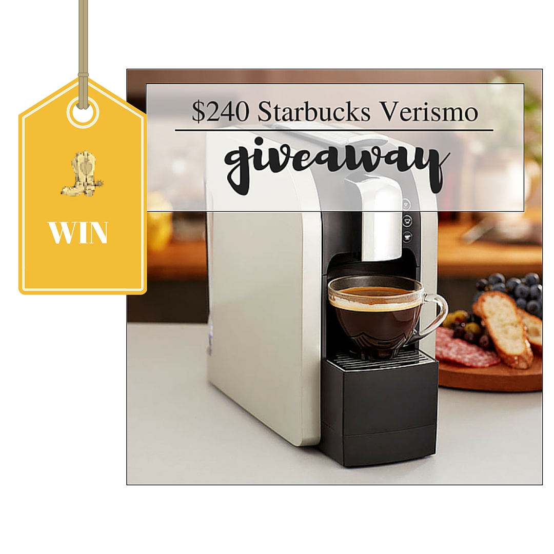 Starbucks Coffee Maker Target : Enter to Win a Starbucks Verismo Coffee Maker