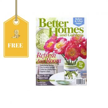 Free Subscription To Better Homes Gardens Magazine Dixie Does Deals