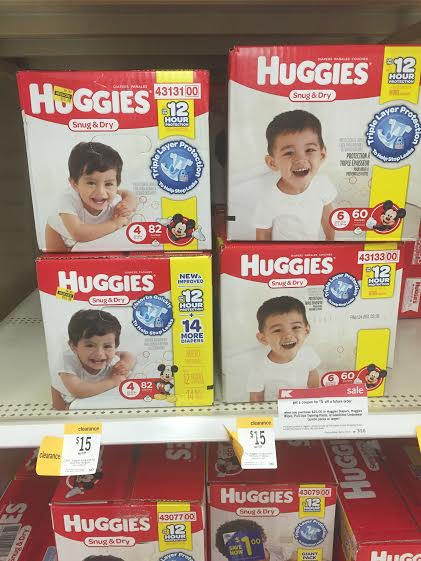 Huggies Boxed Diapers Only 10 50 Regular 19 99 Kmart Deal