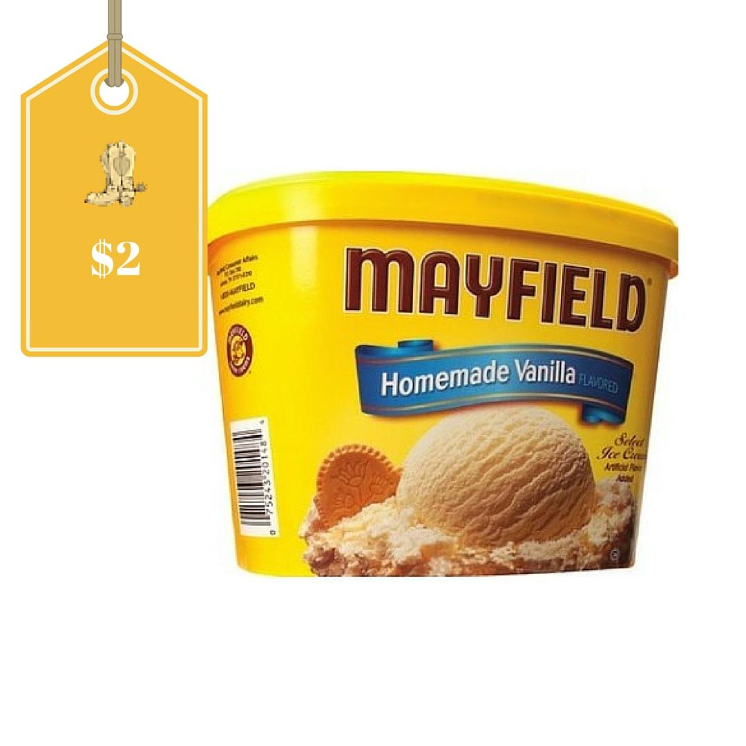 Ice cream discount coupons