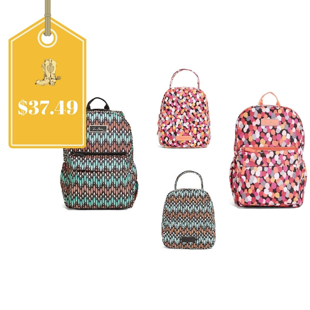 Vera Bradley Backpack And Matching Lunch Box Only 37 49