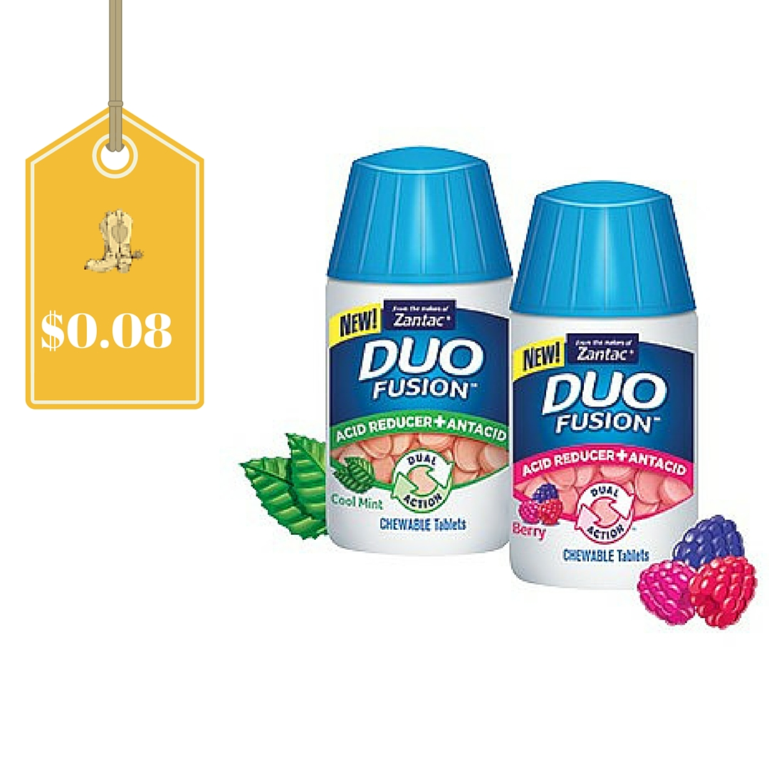 Zantac Duo Fusion Only $0.08: Easy Walmart Deal