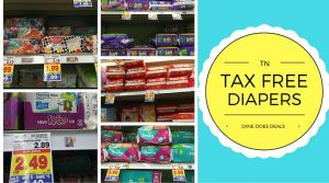 Tax Free Diapers Tennessee