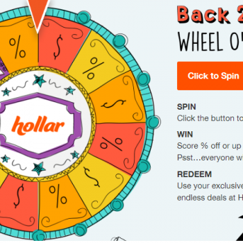 back 2 school wheel of fun