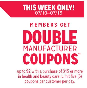 Kmart double coupons policy 2018