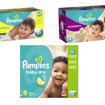 pampers economy plus size box