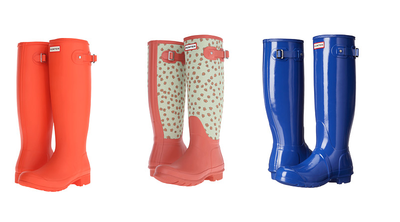 Originally, Hunter rain boots were designed for traversing Scotland's rugged terrain and combating its unpredictable weather. Since then, the reputation of Hunter men's rain boots, Hunter women's rain boots and Hunter children's rain boots for performance, durability and outstanding comfort has become legendary worldwide.