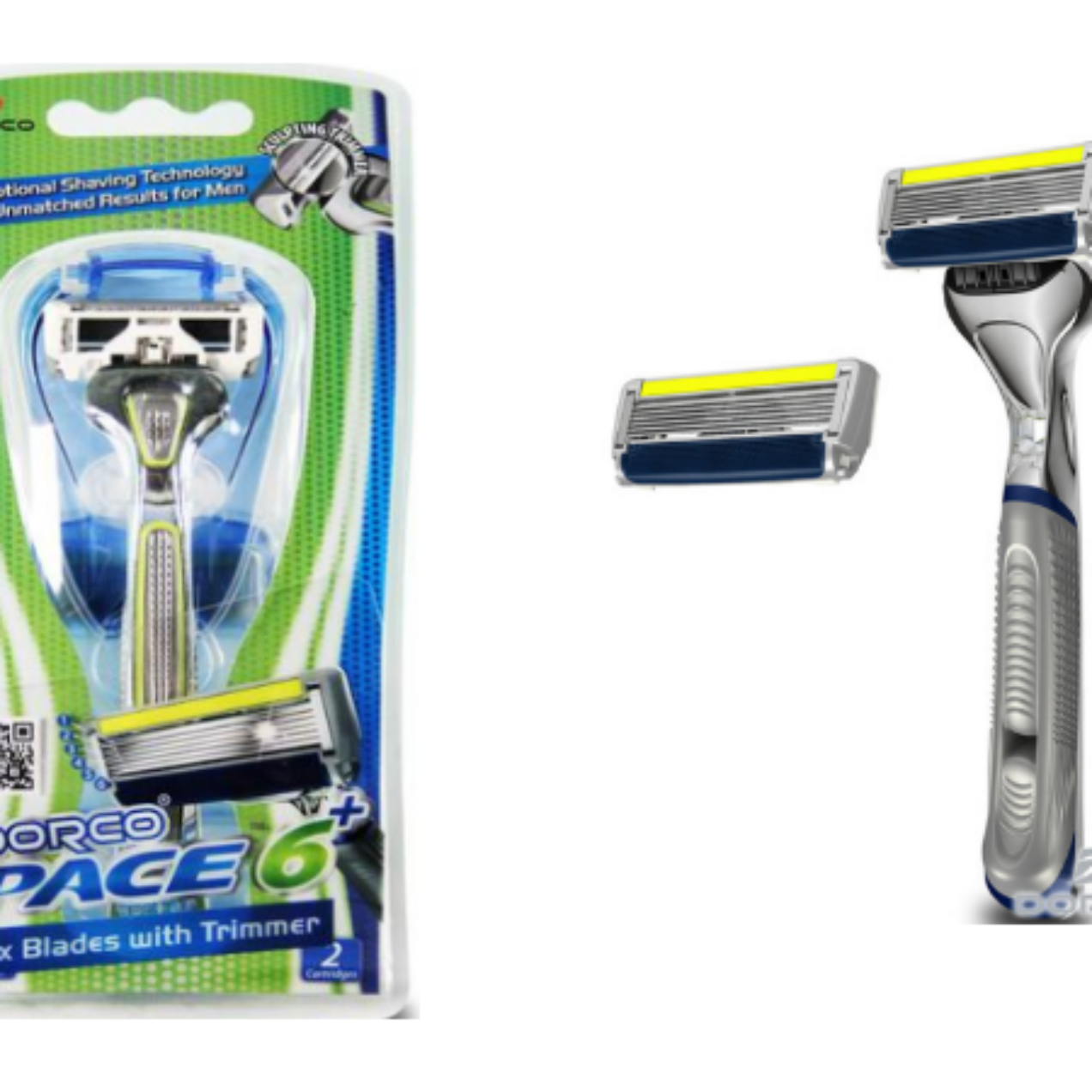 Pace 6 Plus Razor System Only $1.99 (Regular $6.50) – Contains 1 Handle and 2 Cartridges!