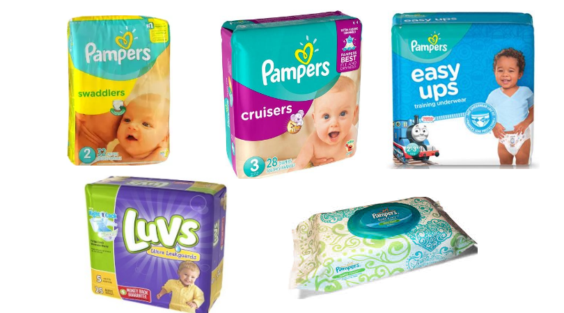 Pampers electronic coupons