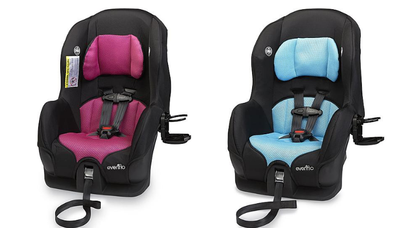 evenflo tribute 5 convertible car seat only after points. Black Bedroom Furniture Sets. Home Design Ideas