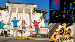 52% or More Off WonderWorks Museum and Laser Tag Tickets in Pigeon Forge