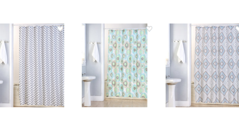 Canvas Shower Curtains