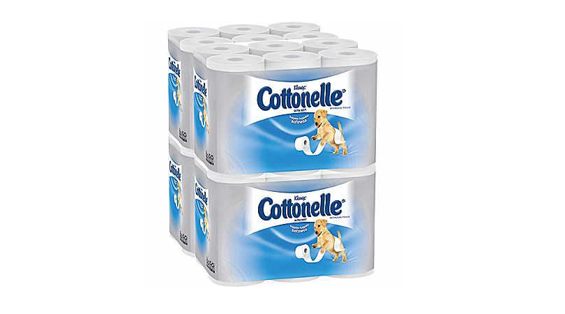 Cottonelle Ultra Soft Bathroom Tissue 48 Rolls Only 14