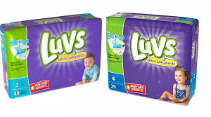 Luvs Diapers Only $1.99 at Kroger, Walmart or Target