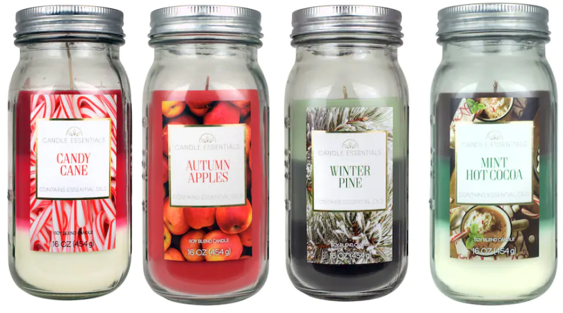 Kohl's Candle Essentials 17 oz  Jar Candles as low as $1 79