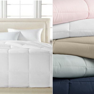 Royal Luxe Down Alternative Comforters Only $19 (regular up to $130): All Sizes