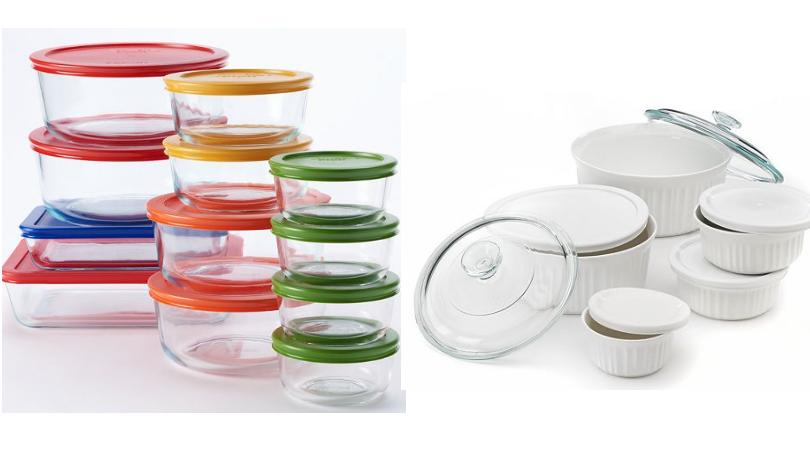 Kohlu0027s Has This Pyrex 24 Pc. Storage Set And This CorningWare 11 Pc. French  White Serveware Set On Sale For $29.99 Each. Plus They Both Have A $10 Mail  In ...