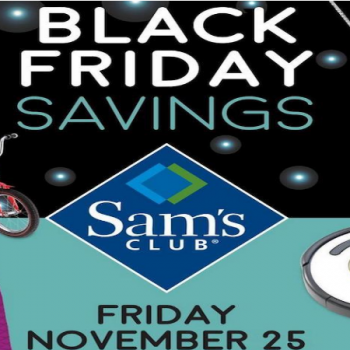 Sam's club tv deals black friday