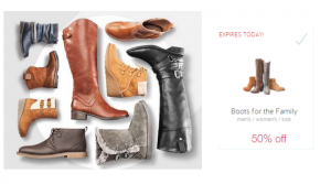 Target: 50% Off Boots For The Family Today Only