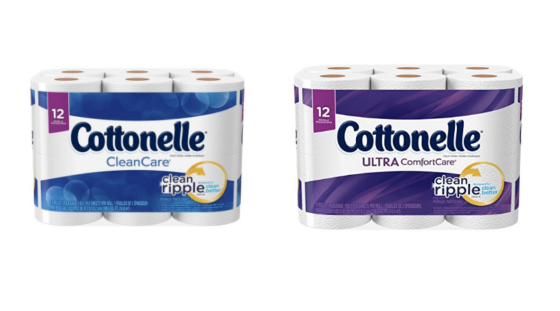 Cottonelle Bath Tissue 30 Double Rolls Only 6 50 At