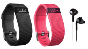 Fitbit Charge HR + Yurbuds Headphone Only $49.99 Shipped ($149.94 Value)