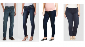 Target: 40% Off Jeans, Includes Mens, Womens and Maternity