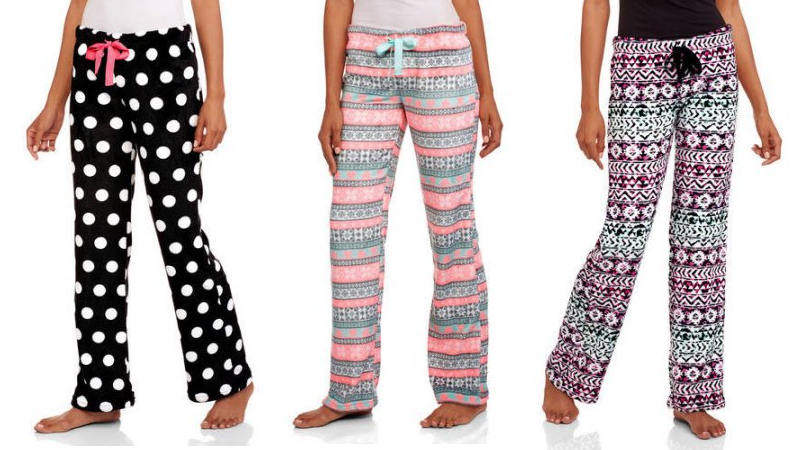 3c2852a747 Need new PJ pants or have someone on your list who does  Walmart has these Body  Candy Juniors  Luxe Plush Sleep Pants on sale for  4 (regular  8.92).