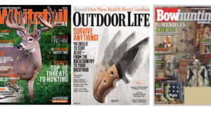 Free Subscriptions To White Tail, Oudoorlife and Bowhunting Magazines