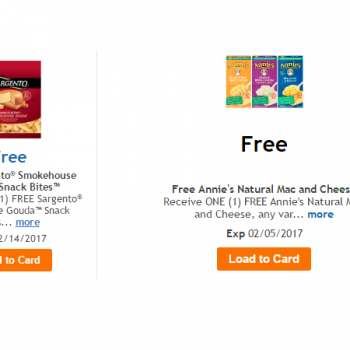 free sargento cheese kroger