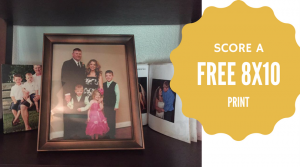 Free 8×10 Photo Print + Free Store Pickup!