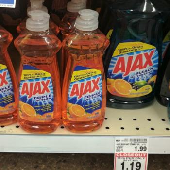 Ajax Dish Soap As Low As 0 39 At Kroger