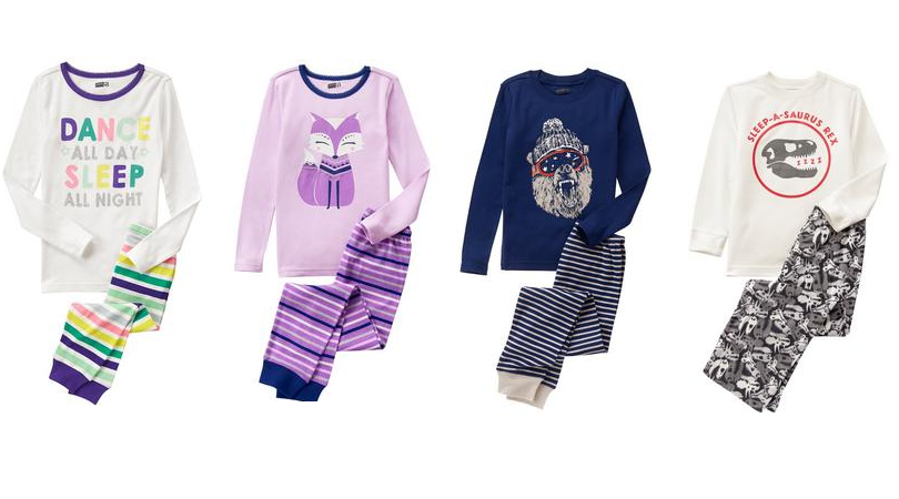 03fe40606 Time to stock up your little ones on new sleepwear! Right now Crazy 8 has  select two piece Pajama Sets on Doorbuster Sale for just $6.88 each  (regular ...
