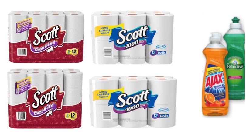 Scott Toilet Tissue Coupons