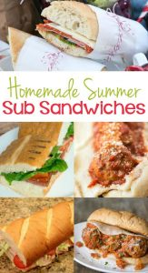 Over 20 Delicious Homemade Sub Sandwiches
