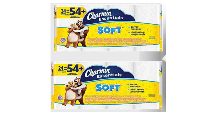 Charmin Essentials Soft Toilet Paper 24 Giant Rolls Only